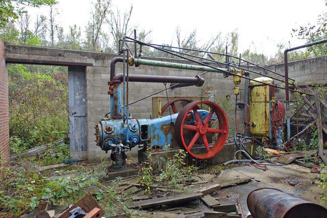 Abandoned Brickyard in Lehigh Iowa Reclaimed By Nature