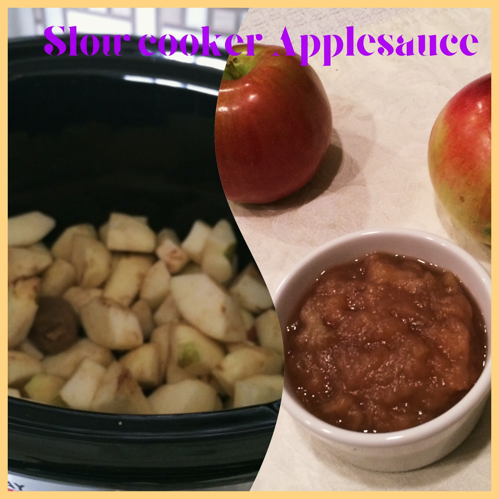 Apples Into Baby Food