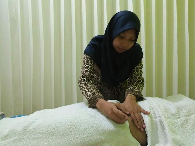 Proses terapi pasien Non-patent pada kedua tuba di Klinik Holistik Elif Medika
