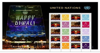 UNPA issues special postal stamps to mark Diwali celebration