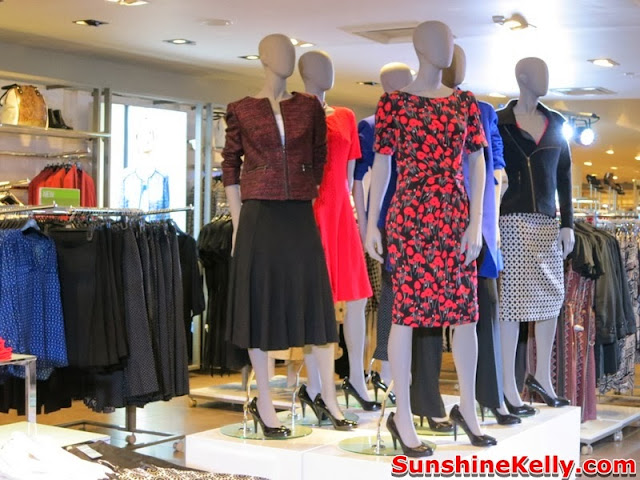 Marks & Spencer, Suria KLCC, clothing, shopping mall, kuala lumpur, women clothes, m&s brand