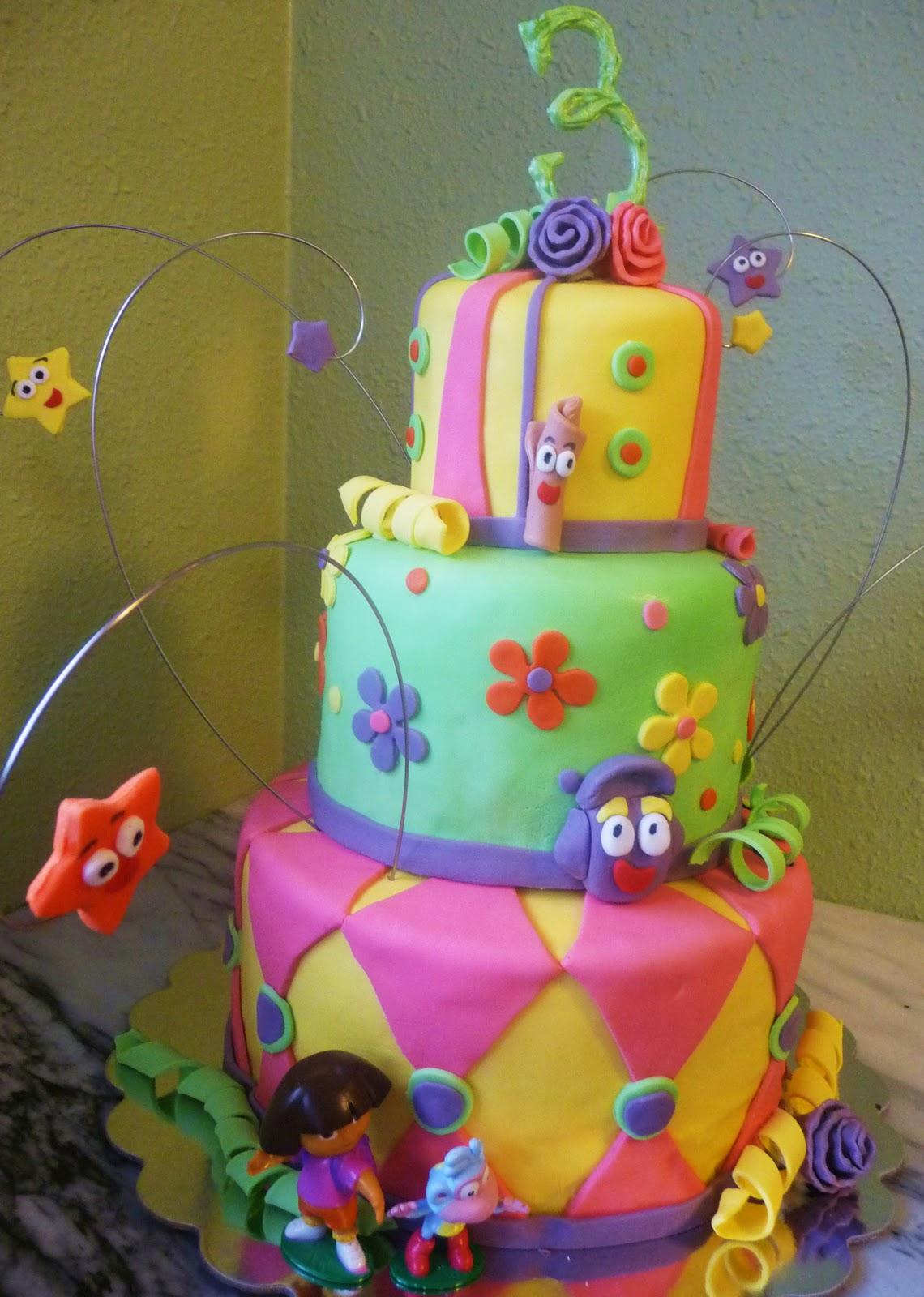 Pure Delights Baking Co Dora The Explorer Cake