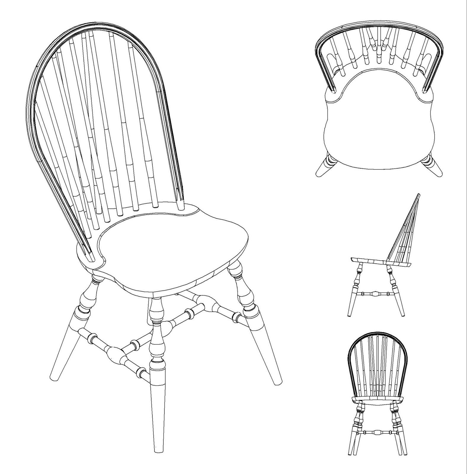 Office Chair Dwg Custom High Covers Trabajando La Madera Y Otros Cuentos Mecedora