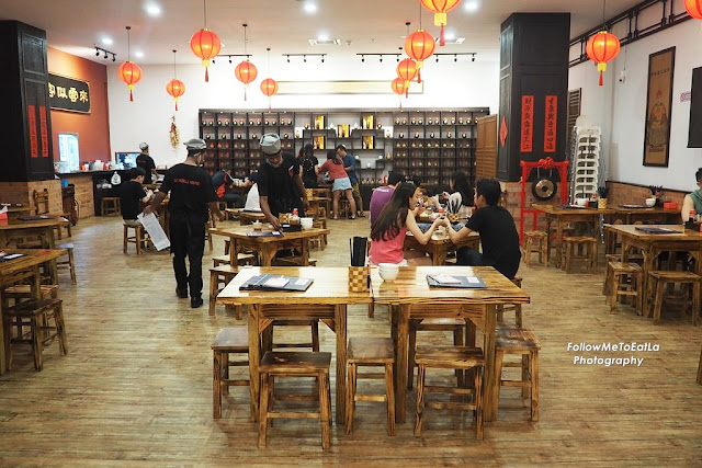 Interior Of GO Noodles House At The Starling Mall
