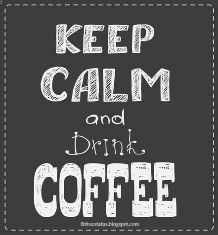 Keep claim and drink coffee.