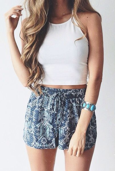 Stylish Ways #Summer #Outfits White Top