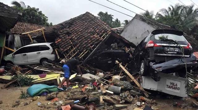 Korban Tsunami Paling Banyak Ditemukan di Empat Titik Ini