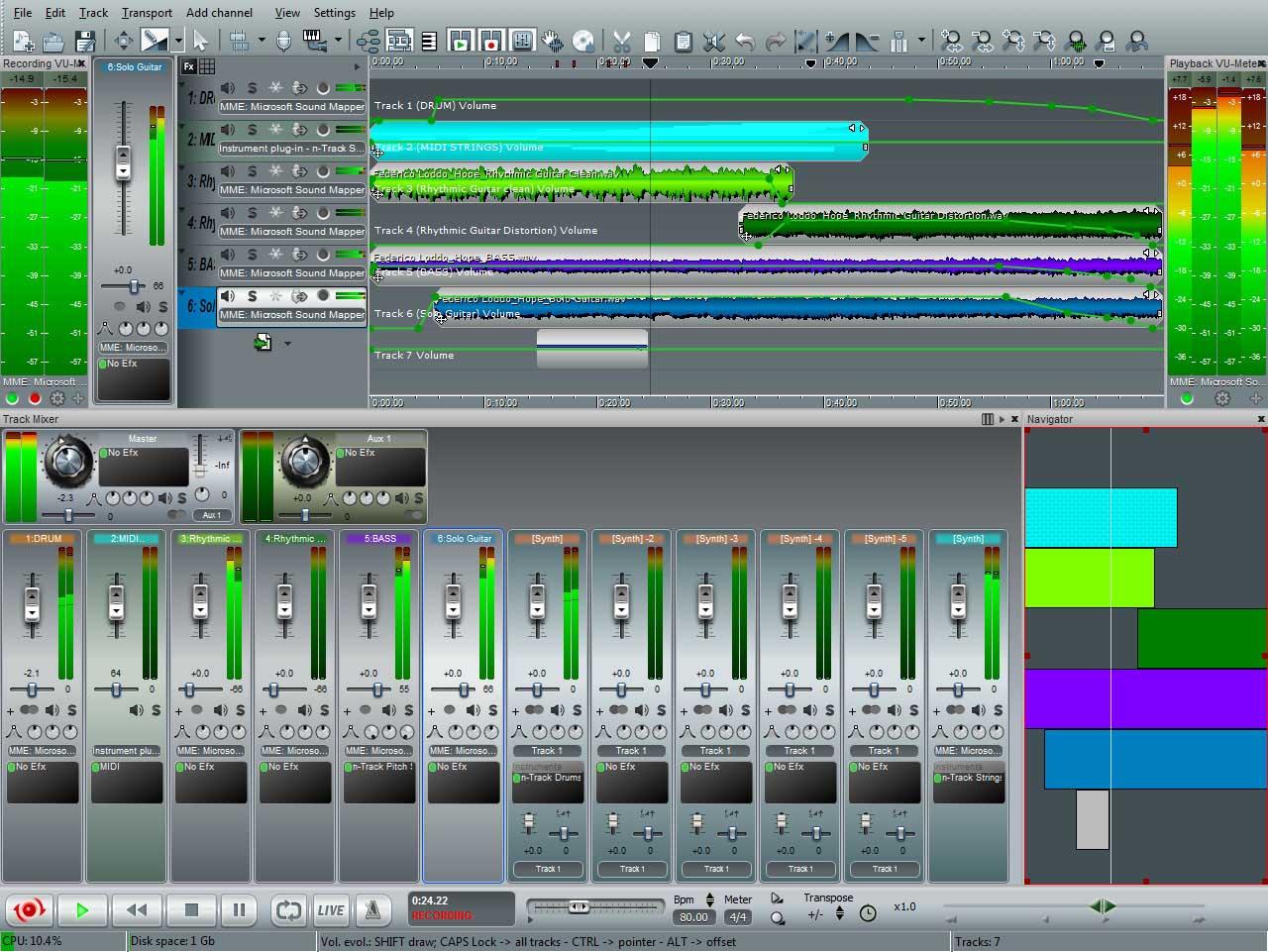 N Track Studio Ex 8 1 4 Multilenguaje Descargar 1