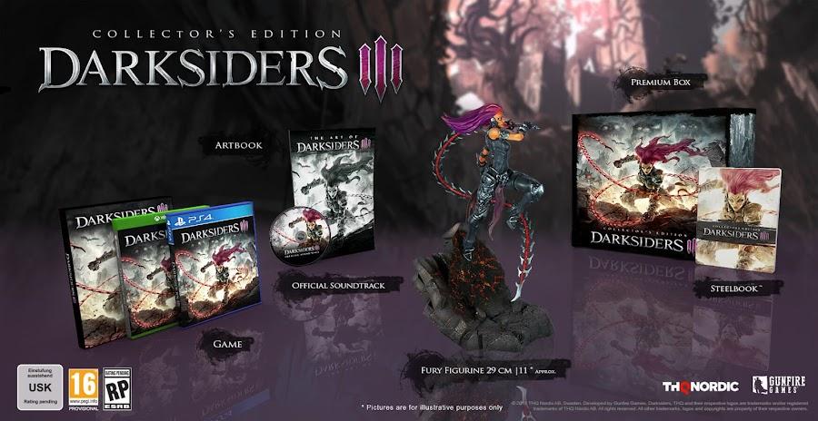 darksiders 3 collectors edition