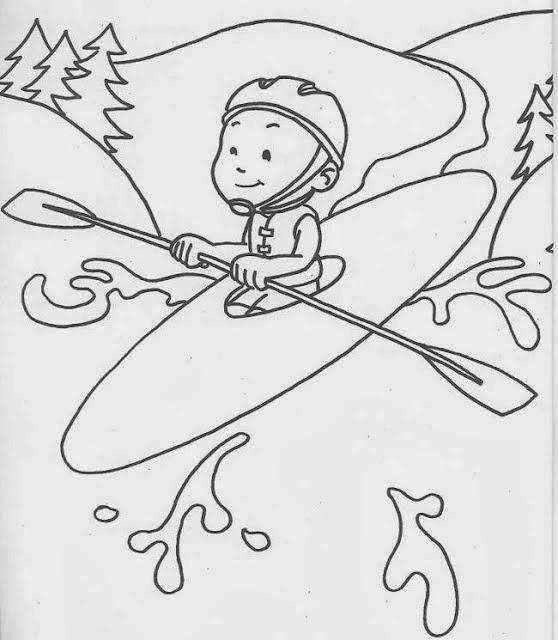 Colorindo E Desenhando: Desenhos De Esportes Para Colorir