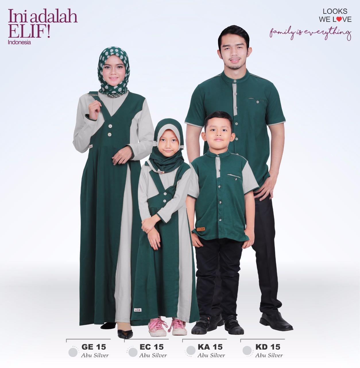 Koleksi Busana Muslimah Baju Couple Muslim Elif