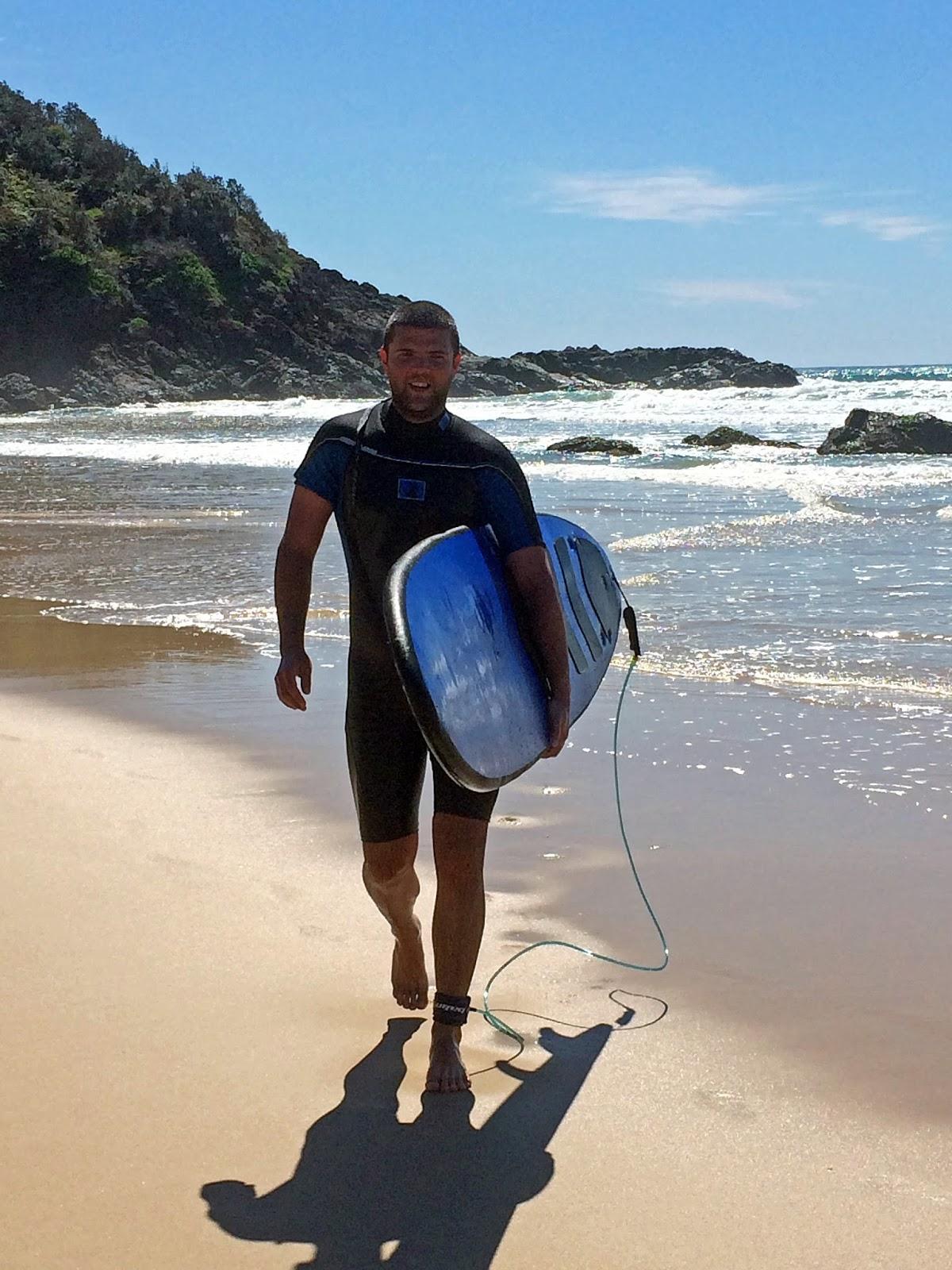 Male Surfer Port Macquarie