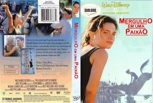 Capa DVD Mergulho Em Uma Paixão