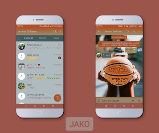 Basketball Theme For YOWhatsApp & Fouad WhatsApp By Ameen Suliman