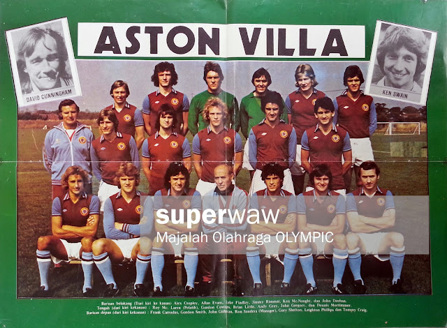 Team Aston Villa 1977