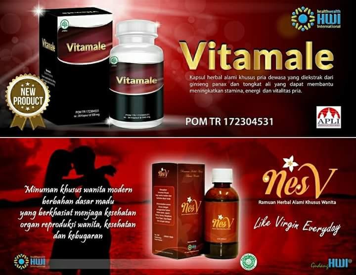 vitamale hwi distributor resmi herbal dan kecantikan pt
