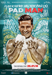 PadMan First Look Poster