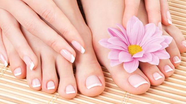 How to get the beautiful feet in the photo - tips on how to deal with some of the issues that ageing presents