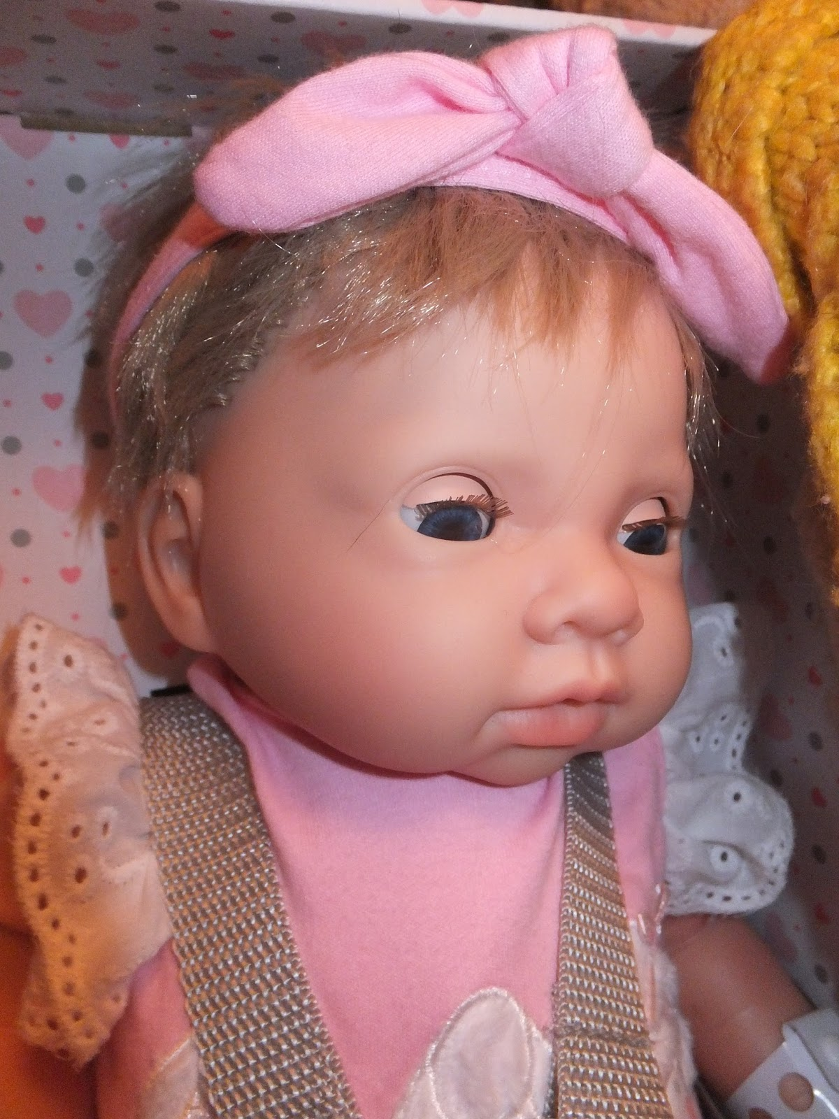 Review Chad Valley Tiny Treasures Newborn Doll I Love Unicorns With Soft Warm Skin Slightly Crazy Wild But Hair Eyes That Open And Close Very Lifelike Facial Features She Really Does Look Like A Real