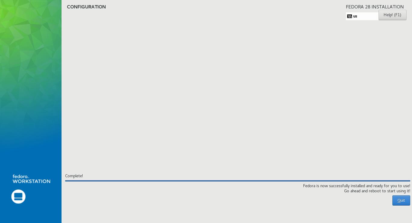 TechnoZeal: Install Fedora 28 on Mac Mini (late 2009)