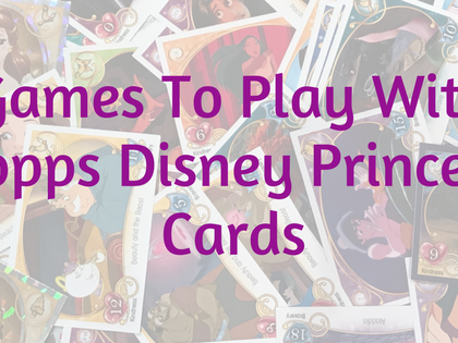 How To Play The Disney Princess Trading Card Game