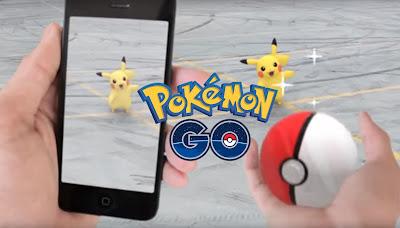 La realidad aumentada de Pokemon GO