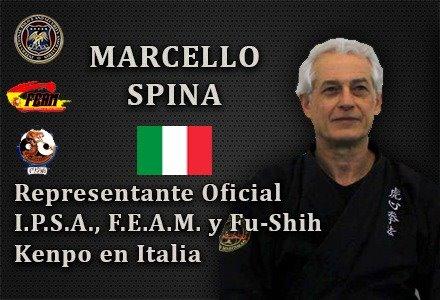 MARCELLO SPINA REPRESENTANTE OFICIAL IPSA ITALIA