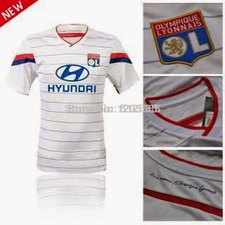 Jersey home away Olympic Liyonaise musim 2014/2015