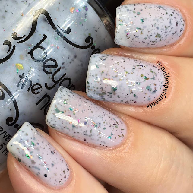 beyond the nail polish in sparkling mermaid scales