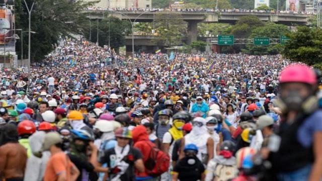 Oposición continúa en la calle y marcha este #7Jun con destino al CNE