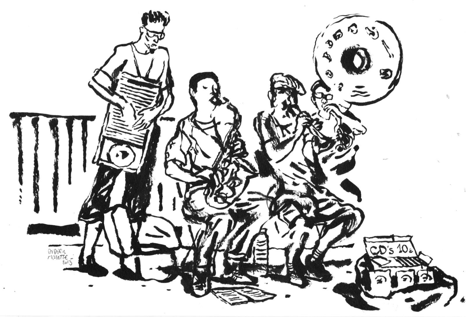 Croquis, dessins, peintures de Didier Millotte: Croquis de
