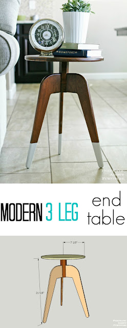 how to make s modern 3 leg dresser