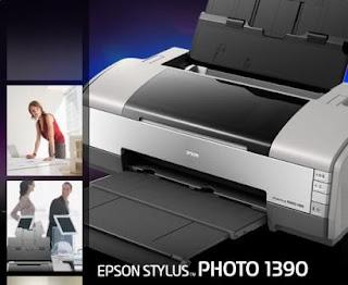 Tutorial Cara Reset Printer Epson Stylus Photo 1390