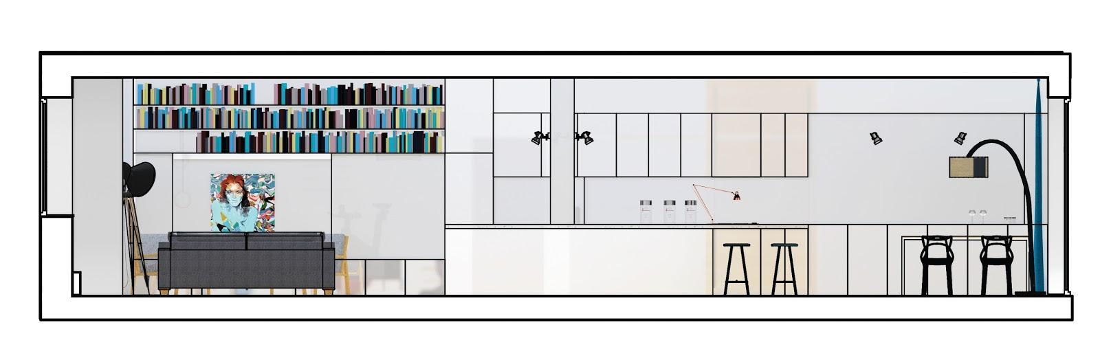 architektura wnętrz propozycja aranżacji minimalistycznego wnętrza