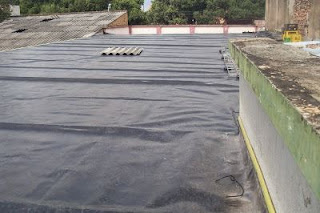 impermeabilizacion de techo con geomembrana sintética