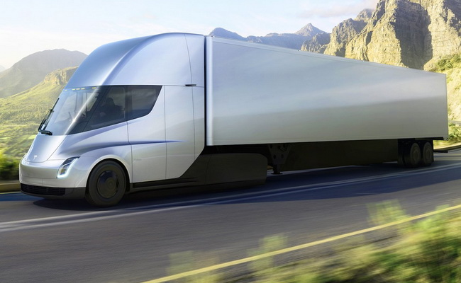 Tinuku PepsiCo makes pre-orders 100 Tesla Semi trucks