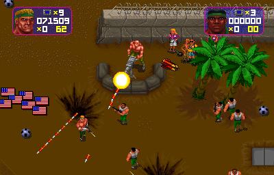 Total Carnage+arcade+game+portable+retro+download free