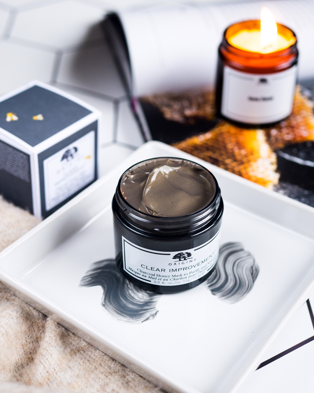 ORIGINS | Clear Improvement Charcoal Honey Mask
