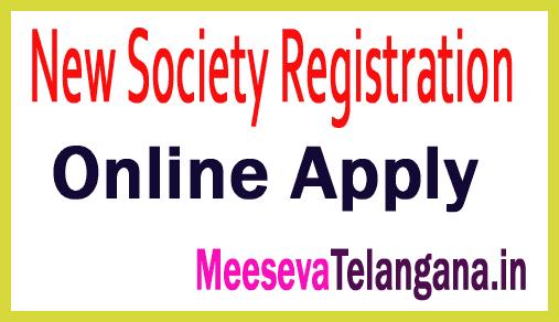 Registration of Society Online Apply on Meeseva Center