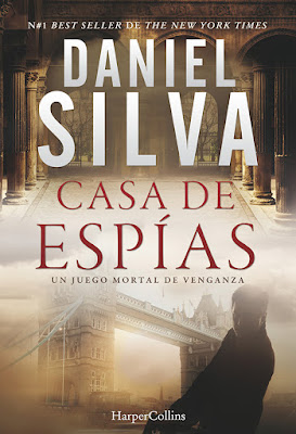 Casa de espías - Daniel Silva (2018)