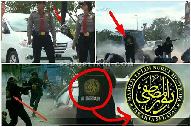 [Video] Diduga Gunakan Logo Majelis Ta'lim Dalam Simulasi Teroris, Polda Bali Dikecam Warganet!
