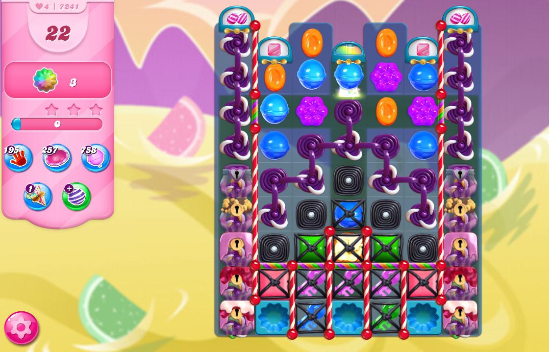 Candy Crush Saga level 7241