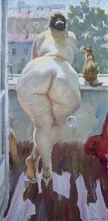 Cuadros Desnudos de Mujeres Voluptuosas Impresionismo
