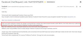 Cara Ampuh Mengatasi Link URL Website / Blog Diblokir Facebook