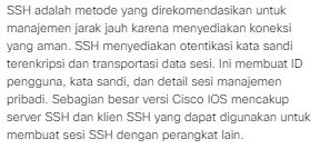Macam Macam Metode Akses Pada Perangkat Cisco