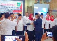 <b>Kepengurusan KONI Kabupaten Bima Dilantik, Ketua Hj. Indah Dhamayanti Putri</b>