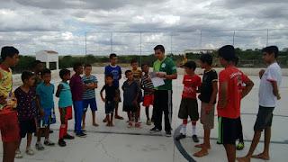 Projeto social com Danças, Capoeira e Futsal tem início no Sitio Mendes
