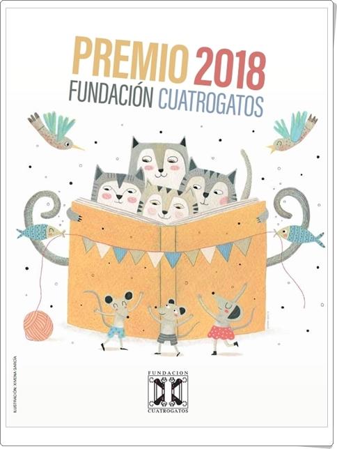 """Premio Fundación Cuatrogatos 2018: """"Los 20 mejores libros para niños y jóvenes"""""""