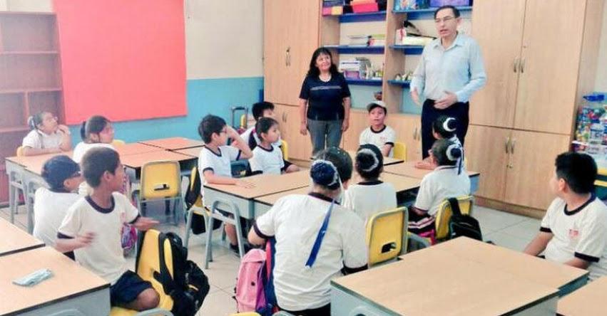 Tras crítica del Presidente Vizcarra, MINEDU se disculpó por demora en entrega de textos escolares