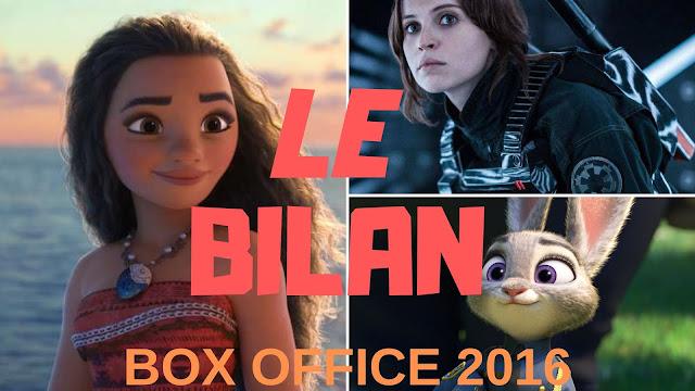 212,71 millions d'entrées pour le box office 2016 : un record.